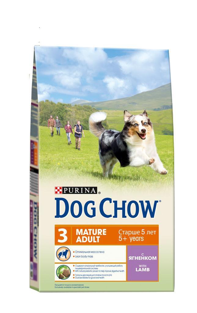 Корм сухой Dog Chow для взрослых собак старше 5 лет, с ягненком и рисом, 14 кг12260274Сухой корм Dog Chow - 100% полнорационное сбалансированное питание для взрослых собак старшего возраста. Корм с высоким содержание мяса помогает взрослым собакам сохранять оптимальную мышечную массу тела и поддерживать хорошую работу сердца. Необходимое содержание белков и жиров, тщательно сбалансированное для поддержания оптимальной массы тела взрослой собаки старшего возраста. Содержит натуральный пребиотик, улучшающий работу пищеварительной системы. Цикорий - источник натурального пребиотика, который, как показали исследования, способствует росту численности полезных кишечных бактерий и нормализации деятельности пищеварительной системы. Гранулы двух видов для гигиены полости рта. Специальная форма и текстура гранул способствует пережевыванию и поддержанию здоровья полости рта. Наши диетологи тщательно протестировали это сочетание гранул для гарантии того, что они подходят и нравятся взрослым собакам различных пород. Незаменимые аминокислоты для поддержания функции жизненно важных органов, включая сердце. Содержит витамин А, помогающий сохранить хорошее зрение. Незаменимые жирные кислоты для здоровой кожи и красивой блестящей шерсти. Состав: злаки, мясо и продукты переработки мяса (8%), экстракт растительного белка, масла и жиры, продукты переработки сырья растительного происхождения, овощи (сухой корень цикория), минеральные вещества, витамины. Добавленные вещества (на 1 кг): витамин А 18200 МЕ, витамин D3 1060 МЕ, витамин Е 85 МЕ, железо 230 мг, йод 2,9 мг, медь 33 мг, марганец 17,5 мг, цинк 372 мг, селен 0,4 мг. Гарантируемые показатели: белок 23%, жир 10%, сырая зола 8%, сырая клетчатка 3%. Вес: 14 кг. Товар сертифицирован.