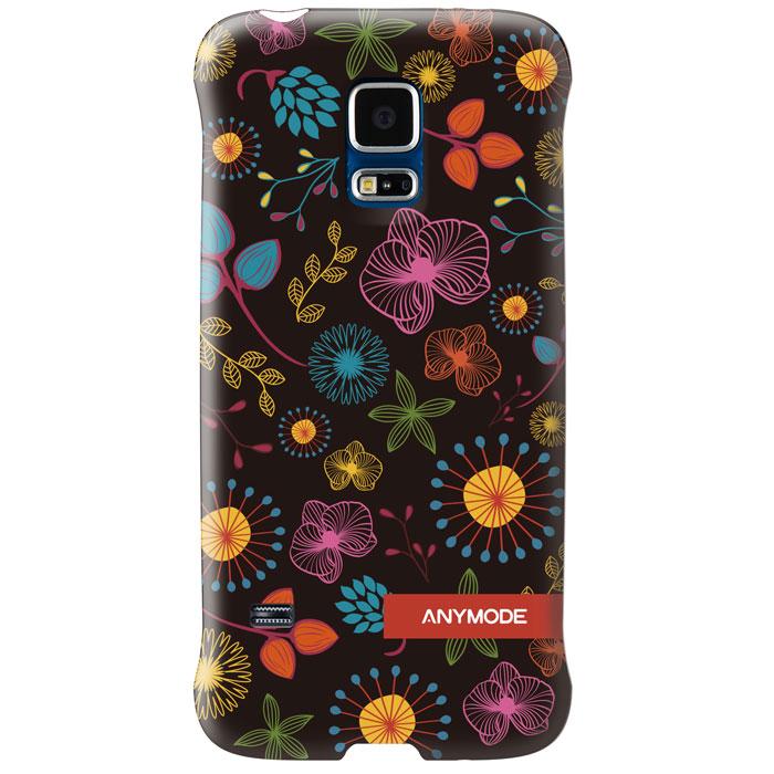 Anymode Цветы задняя панель для Samsung S5 mini, DarkFABP010KA2Задняя панель Anymode Цветы защитит ваш смартфон от царапин и повреждений и придаст ему уникальный облик за счет оригинального дизайна панели.