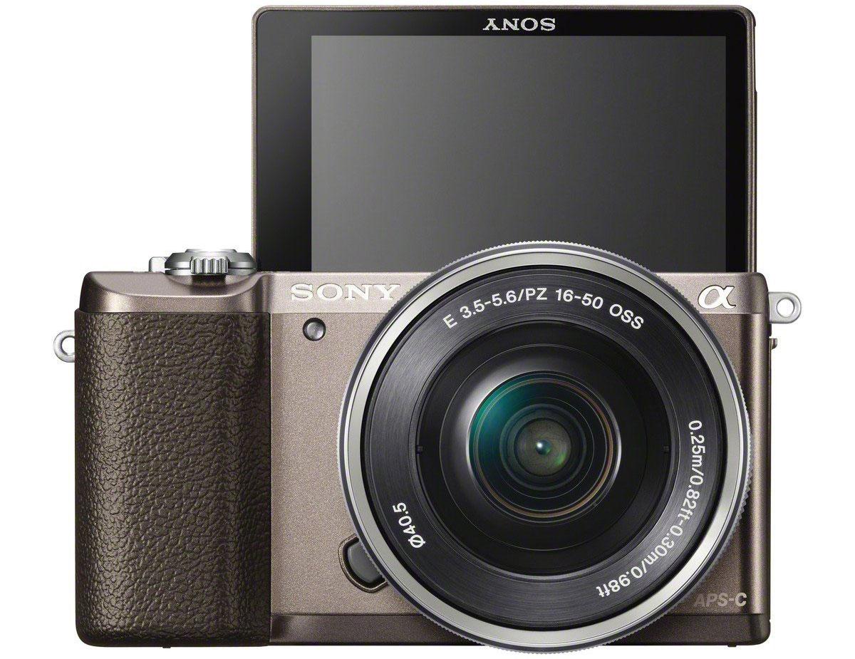 Sony Alpha A5100 Kit 16-50mm E PZ, Bronzeцифровая фотокамера Sony