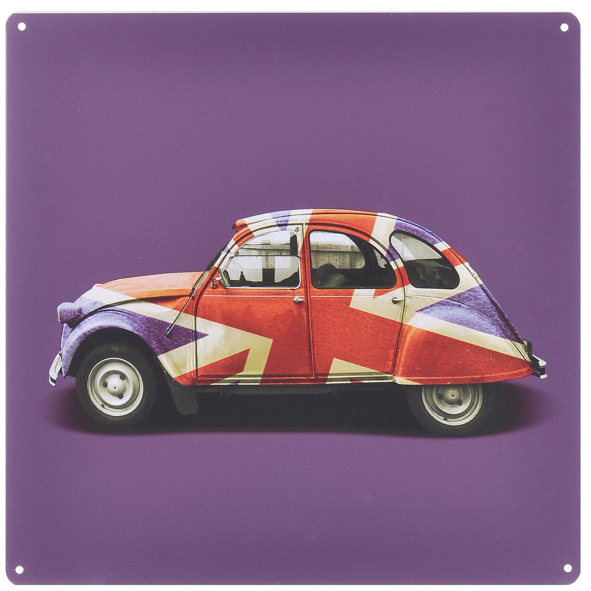 Постер Феникс-презент Автомобиль, 30 х 30 см37441Постер Феникс-презент Автомобиль выполнен из черного металла. На постере изображен автомобиль. Постер заинтересует всех любителей оригинальных вещиц и доставит массу положительных эмоций своему обладателю.Картина для интерьера (постер) - современное и актуальное направление в дизайне любых помещений.Постер может использоваться для оформления любых интерьеров:- дом, квартира (гостиная, спальня, кухня, прихожая, детская); - офис (комната переговоров, холл, кабинет); - бар, кафе, ресторан или гостиница. Из мелочей складывается стиль интерьера. Постер Феникс-презент Автомобиль одна из тех деталей, которые придают интерьеру обжитой вид и создают ощущение уюта.