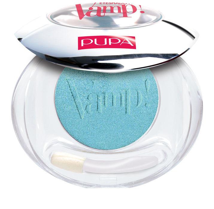 цена на PUPA Компактные тени Vamp!, сатиновые, тон №305 зеленый, 2,5 г