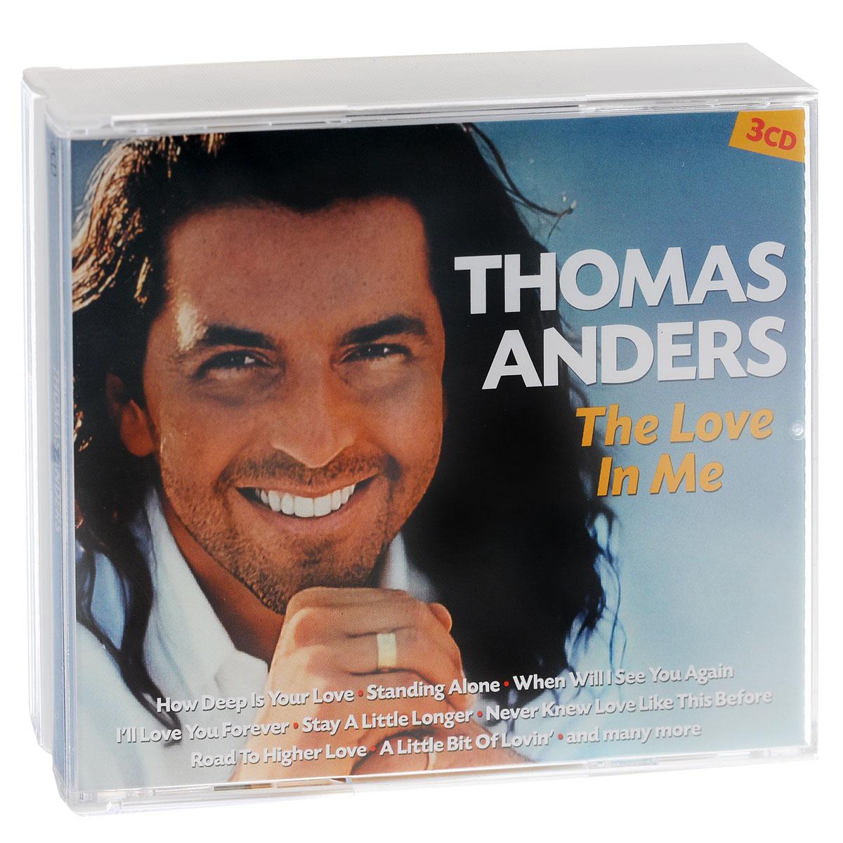 Томас Андерс Thomas Anders. The Love In Me (3 CD) thomas love peacock nightmare abbey