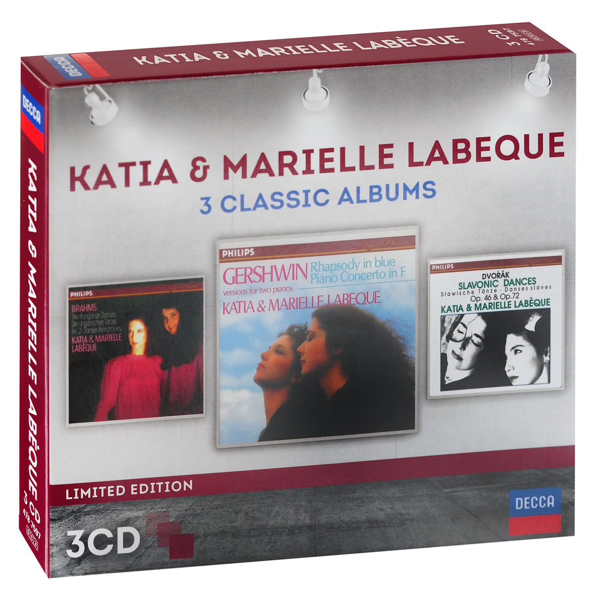Katia & Marielle Labeque. 3 Classic Albums (3 CD)