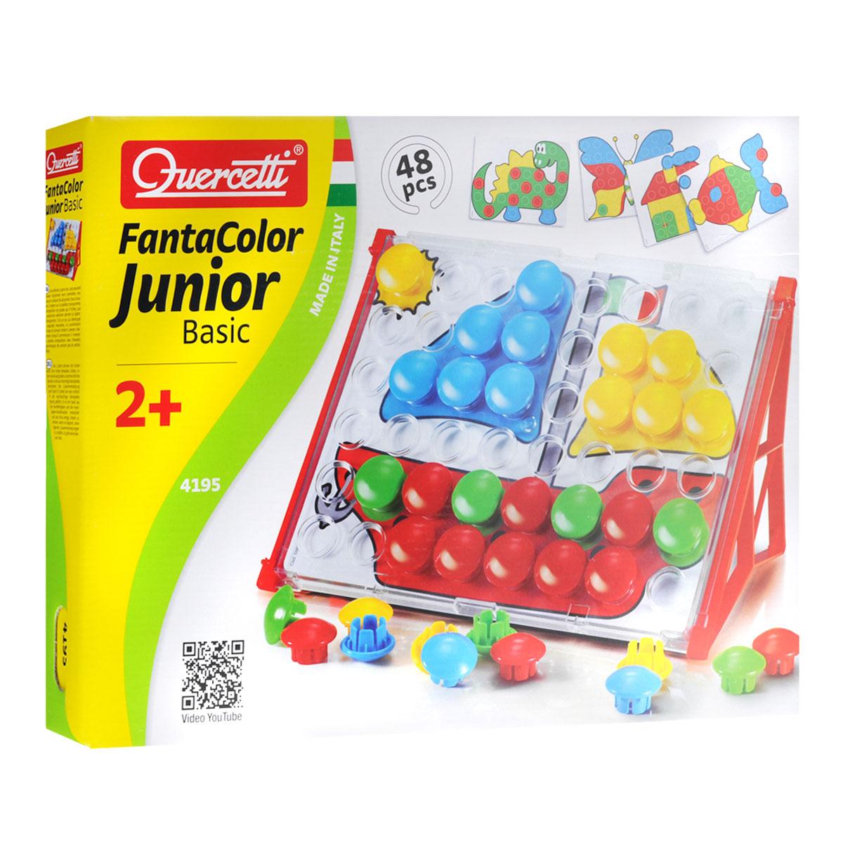 Мозаика Quercetti  FantaColor: Junior Basic , №4195, 48 элементов -
