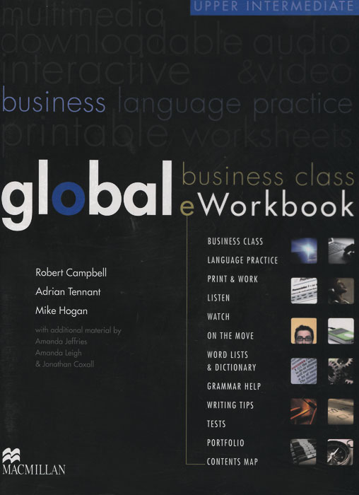 Global Business Class EWorkbook: Upper Intermediate Level (+DVD-ROM)