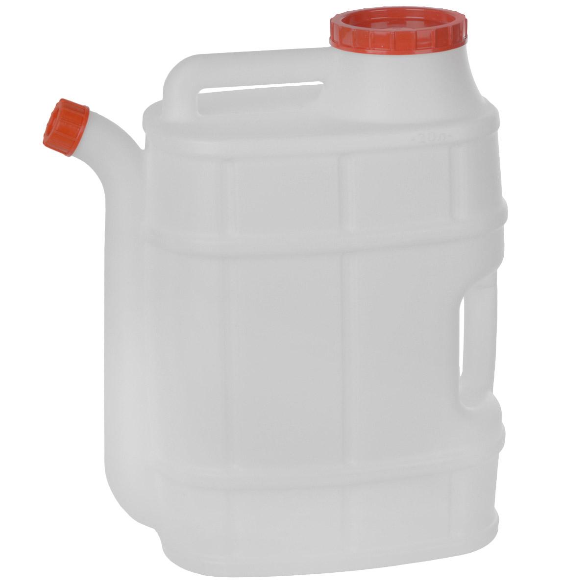 Канистра со сливом Альтернатива Бочонок, 20 лМ1282Канистра Альтернатива Бочонок на 20 литров, изготовленная из прочного пластика, несомненно, пригодится вам во время путешествия. Предназначена для переноски и хранения различных жидкостей. Канистра оснащена сливом.