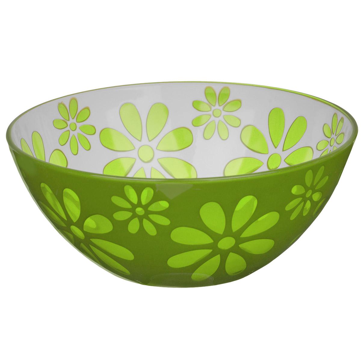 Чаша Альтернатива Соблазн, цвет: зеленый, 1,7 лM2322Чаша Альтернатива Соблазн изготовлена из высококачественного пластика и подходит для повседневного использования. Чаша отлично подойдет для овсяных хлопьев, фруктов, риса или некоторых видов десерта. Также в ней можно приготовить салаты. Приятный дизайн подойдет практически для любого случая.