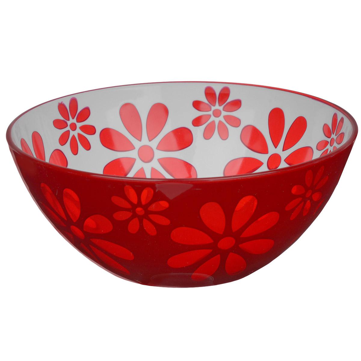 Чаша Альтернатива Соблазн, цвет: красный, 1,7 лM2320Чаша Альтернатива Соблазн изготовлена из высококачественного пластика и подходит для повседневного использования. Чаша отлично подойдет для овсяных хлопьев, фруктов, риса или некоторых видов десерта. Также в ней можно приготовить салаты. Приятный дизайн подойдет практически для любого случая.