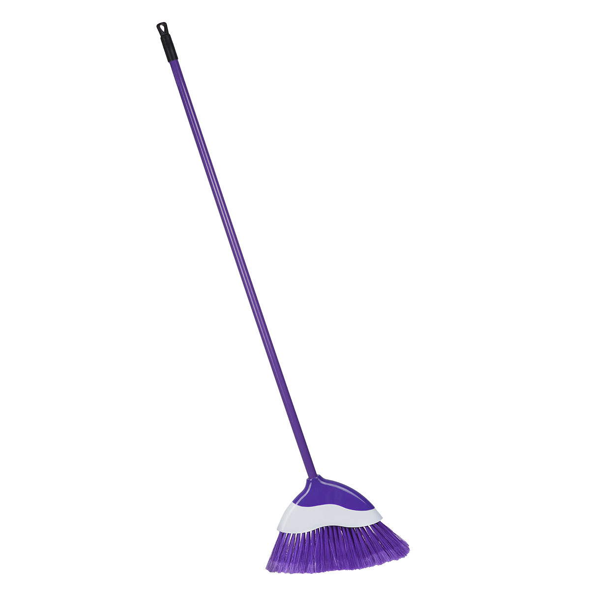 Еврошвабра Home Queen с фигурной насадкой, со съемной ручкой, цвет: фиолетовый, белый57246Еврошвабра Home Queen, выполненная из металла и полипропилена, идеальноподходит для подметания всехтипов напольных поверхностей благодаря длинной пластичной щетине.Изделие имеет фигурную съемную насадку с волнистыми краями.С шваброй Home Queen ваш дом будет сиять чистотой!Длина ручки: 108 см.Размер насадки: 34 х 4 х 22,5 см.Длина ворса: 10 см.