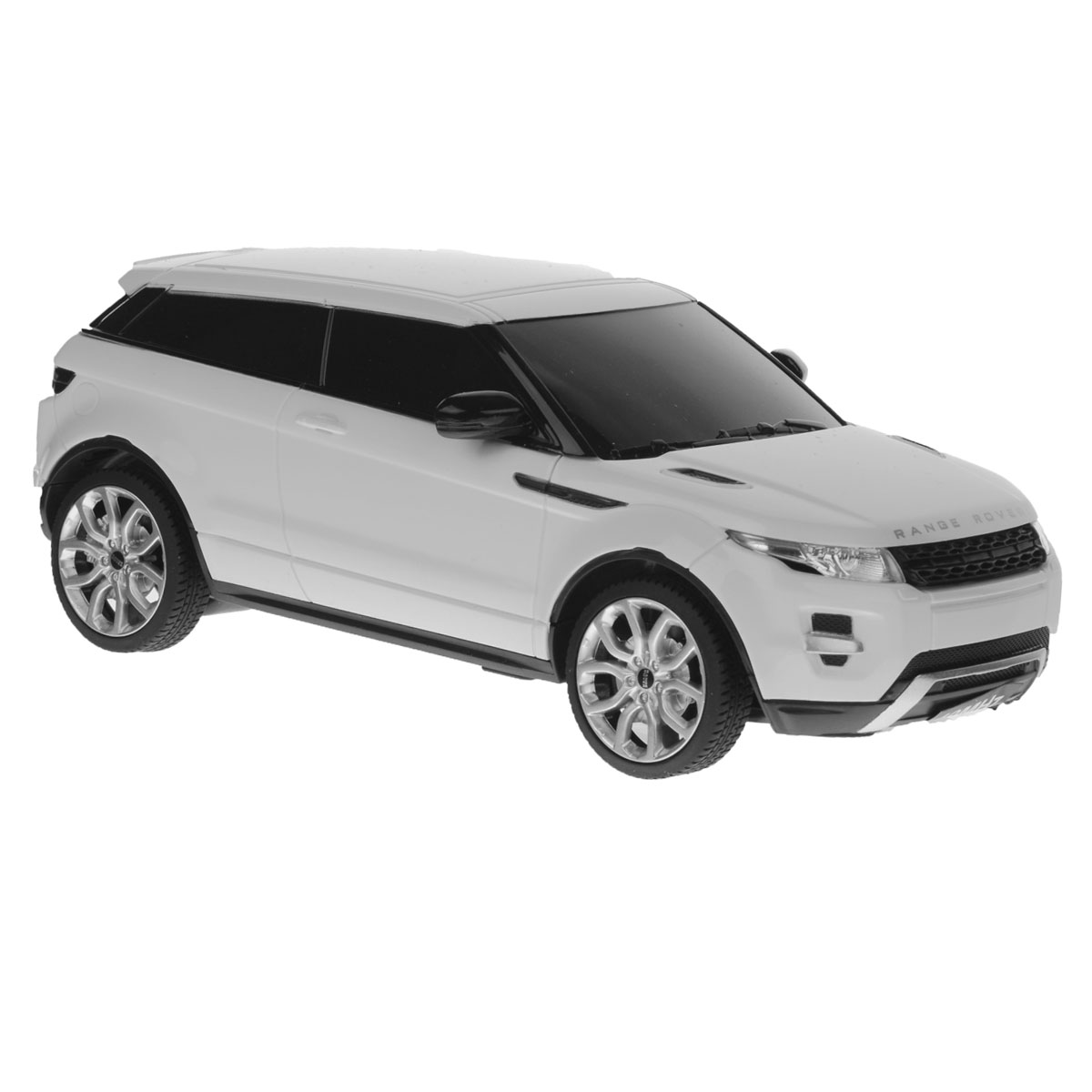 Rastar Радиоуправляемая модель Range Rover Evoque цвет белый масштаб 1:24 pitstop модель автомобиля range rover evoque цвет белый