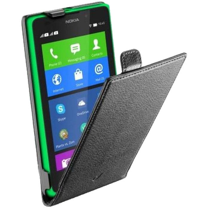 Cellular Line Flap Essential чехол для Nokia XL (21431)FLAPESSENXLKCellular Line Flap Essential- качественный защитный чехол для вашего смартфона. Все разъемы и элементы управления открыты и легко доступны.