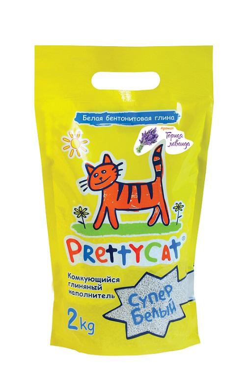 Наполнитель для кошачьих туалетов PrettyCat