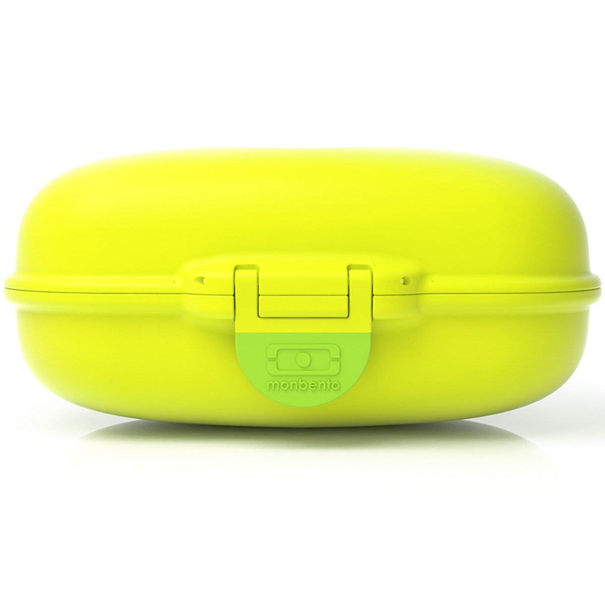 Ланчбокс Monbento Gram, цвет: киви, 600 мл3000 02 055Ланчбокс Monbento Gram изготовлен из высококачественного пищевого пластика. Предназначен для хранения и переноски пищевых продуктов. Ланчбокс плотно закрывается на защелку. Компактные размеры позволят хранить его в любой сумке. Ланчбокс удобно взять с собой на работу, отдых, в поездку. Теперь любимая домашняя еда всегда будет под рукой, а яркий дизайн поднимет настроение и подарит заряд позитива.Объем: 600 мл. Размер ланчбокса: 15 см х 10 см х 7 см.