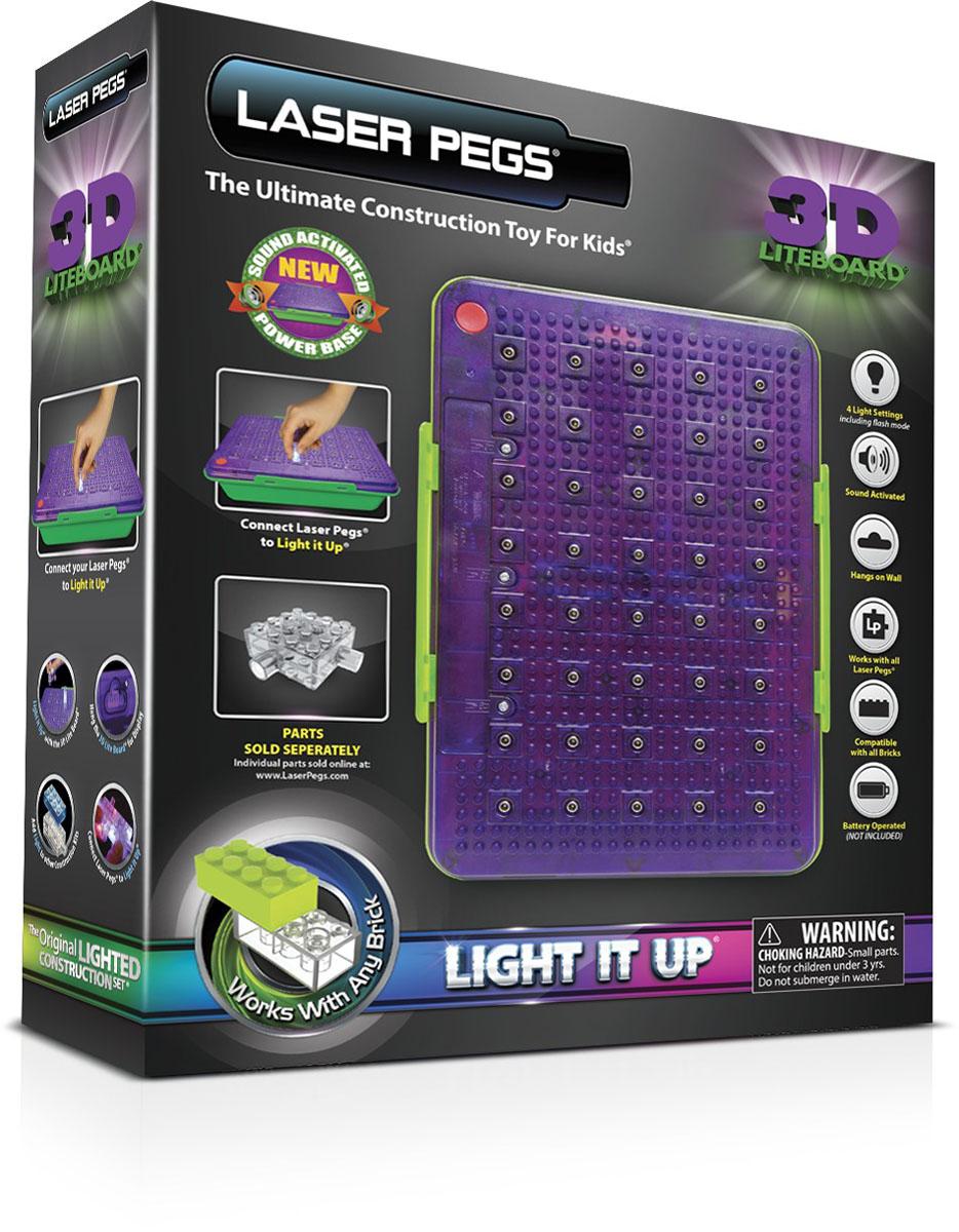 Laser Pegs Световая 3D панель для конструктора панель автомагнитолы в екб