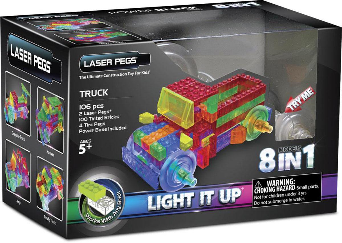 все цены на Laser Pegs Конструктор Грузовик 8 в 1