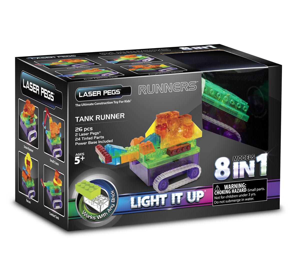 Laser Pegs Конструктор Танк 8 в 1
