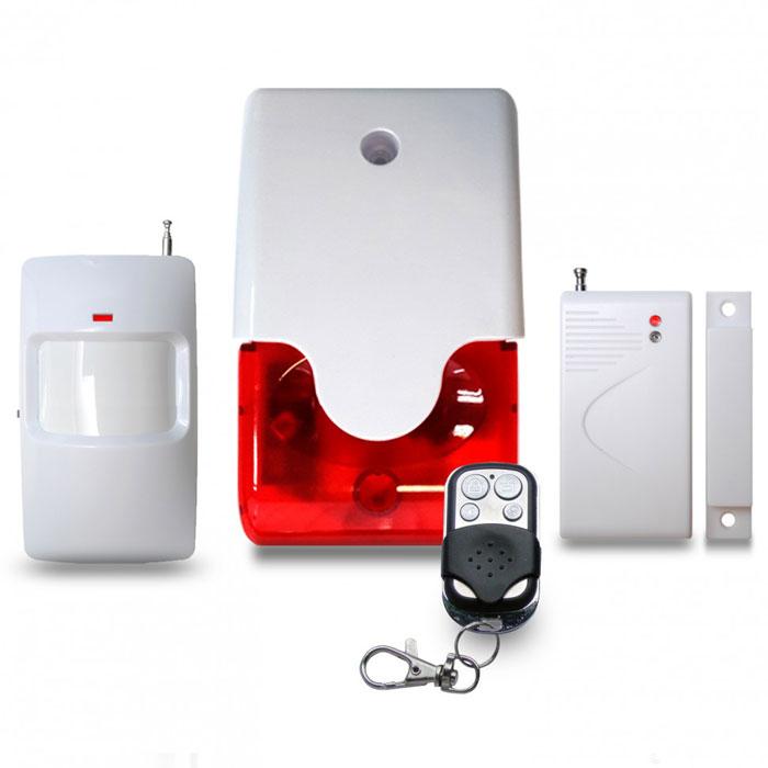 Sapsan Local Alarm Pro-1A автономная сигнализацияPRO-1ASapsan Local Alarm - локальная беспроводная светозвуковая сирена с мощностью в 110 децибел и четырьмя мощными светодиодами, работающими до полутора минут при тревоге. К сирене можно подключать радиоканальные извещатели (датчики) линейки Sapsan и получать от них тревожные сигналы.Отлично подойдет для установки в закрытых помещениях, для отпугивания злоумышленников или для того, чтобы предупредить охрану о проникновении. Идеально подойдут такие объекты как: аптека, магазин, торговый павильон, ларек, киоск, гараж в гаражных кооперативах и на стоянках и т.д