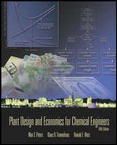 Plant Design and Economics for Chemical Engineers a princess of mars
