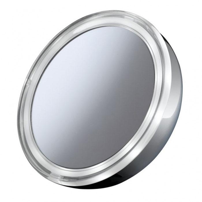 Imetec 5056 косметическое зеркало5056Imetec 5056 - это удобное зеркало серебристого цвета в форме круга, при помощи которого вы легко сможете нанести макияж. Диаметр зеркала — 128 мм. Благодаря круговой LED-подсветке и трехкратному увеличению вам удастся тщательно и точно нанести на лицо все детали макияжа. Для легкого и быстрого отсоединения подставки у зеркала есть специальная система со встроенным магнитом. Устройство работает от трех батареек типа ААА.