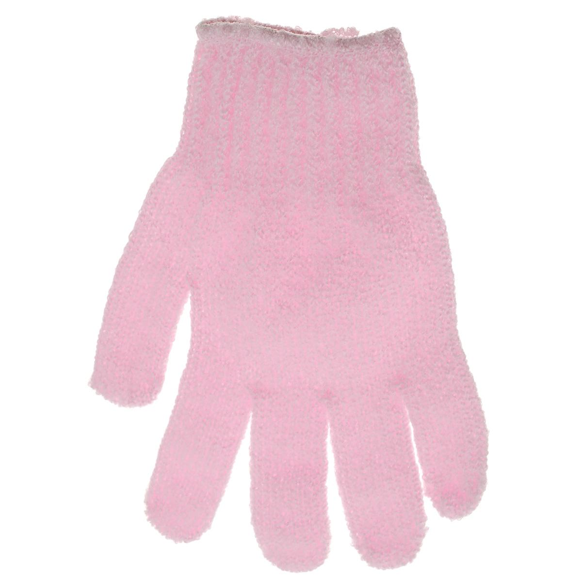Перчатка массажная The Body Time, цвет: розовый, 17,5 х 12,5 см57201Массажная перчатка The Body Time выполненная из нейлона, прекрасно массирует, тонизирует и очищает кожу. Обладая эффектом скраба, перчатка мягко отшелушивает верхний слой эпидермиса, стимулируя рост новых, молодых клеток, делая кожу здоровой и красивой. Перчатка используется для душа или для массажных процедур.Размер перчатки: 17,5 х 12,5 см.