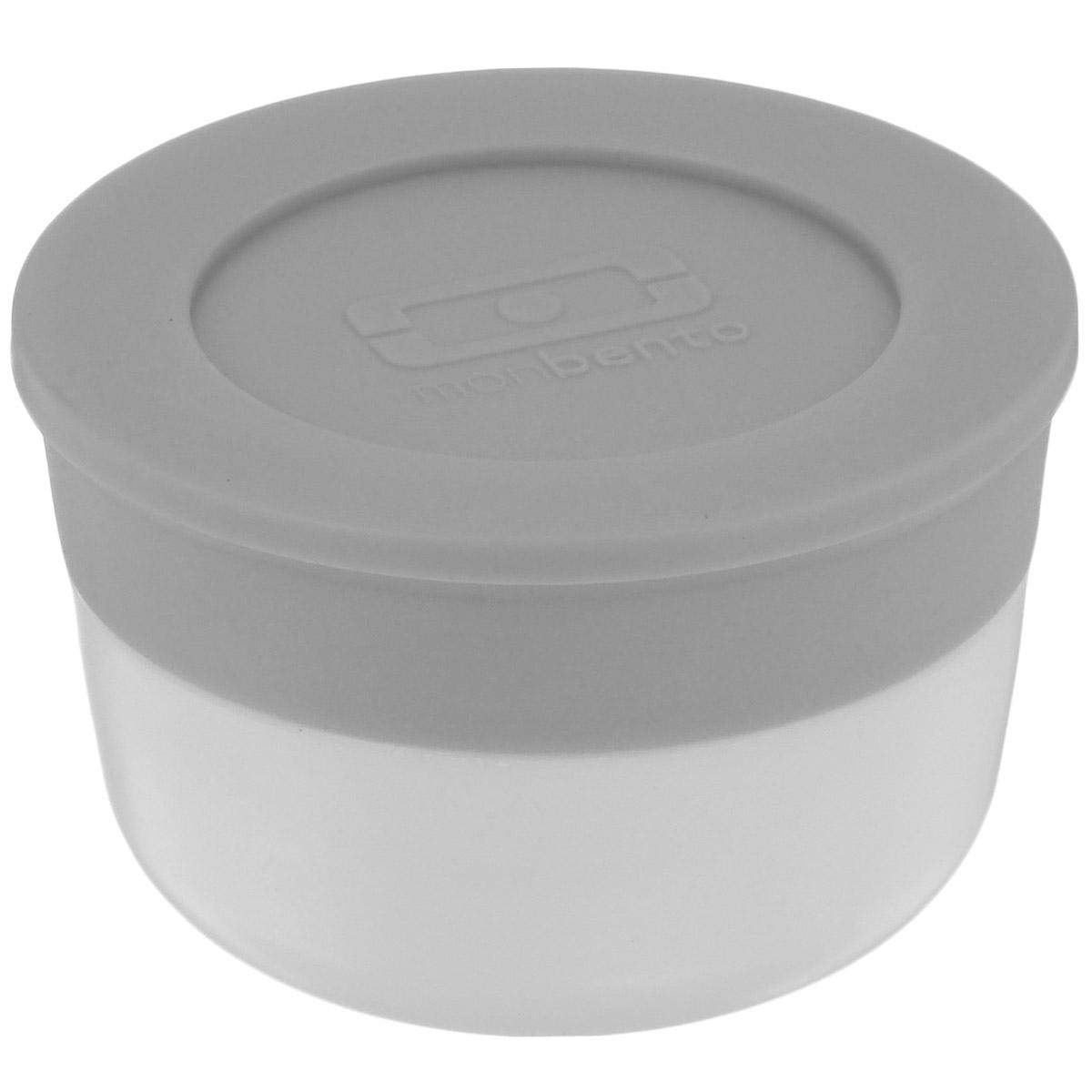 Соусница Monbento Monbento Temple, с крышкой, цвет: белый, серый, диаметр 5 см, 28 млМ 1110Соусница с крышкой Monbento MB Temple - удобное дополнение к ланч-боксу, которое позволит заправить соусом салат или гарнир прямо перед едой. Соусница изготовлена из полипропилена и имеет герметичную плотно закручивающуюся силиконовую крышечку. Идеально помещается в ланч-бокс от Monbento, занимая минимум места. Можно мыть в посудомоечной машине, а также хранить в морозильной камере.Диаметр соусницы: 5 см. Объем соусницы: 28 мл. Высота соусницы (с учетом крышки): 3,2 см. Диаметр по верхнему краю: 4,2 см.