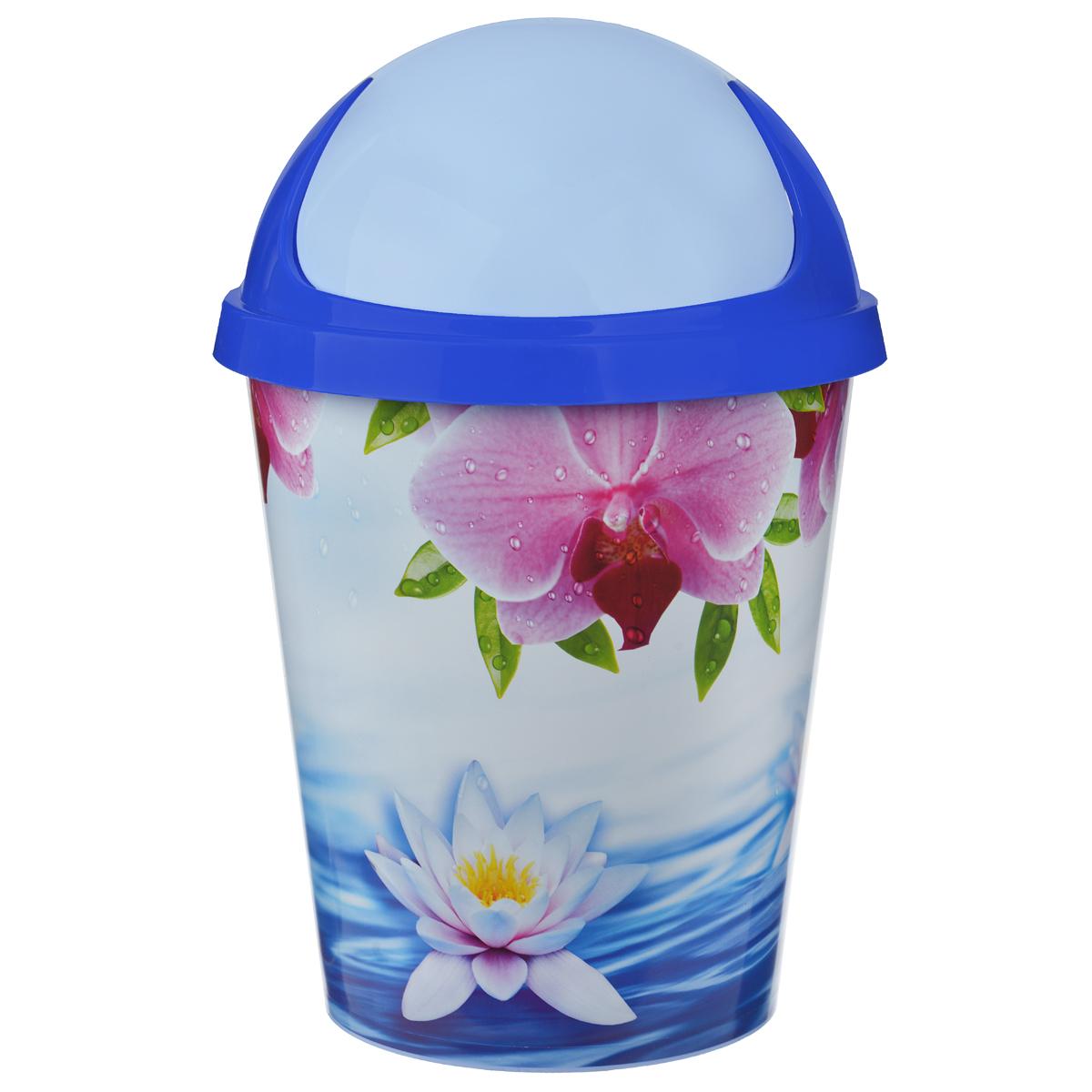 Контейнер для мусора Альтернатива Лотос, 10 л, 26,5 х 26,5 х 39 смМ1757Контейнер для мусора Альтернатива Лотос выполнен из пластика. Такой аксессуар очень удобен в использовании, как дома, так и в офисе. Оснащен крышкой.Размер контейнера (с учетом крышки): 26,5 см х 26,5 см х 39 см.Размер контейнера (без учета крышки): 26,5 см х 26,5 см х 29 см.