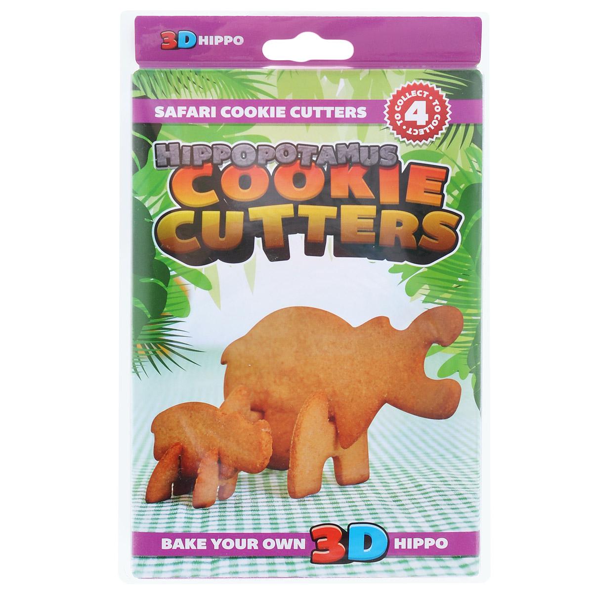 Форма для печенья 3D Suck UK Гиппопотам, цвет: фиолетовыйSK COOKIESAFARI43D форма для печенья Suck UK Гиппопотам, изготовленная из высококачественного и прочного пластика, состоит из четырех составных частей, которые позволяют собрать объемную фигуру в виде гиппопотама. С такой формой легко и просто вырезать фигурное тесто для приготовления домашнего печенья.Форма для печенья Suck UK Гиппопотам вдохновит вас и вашего ребенка на кулинарные шедевры.Можно мыть в посудомоечной машине. Размер самой большой составной части: 14 см х 8 см.Размер самой маленькой составной части: 3 см х 3 см.