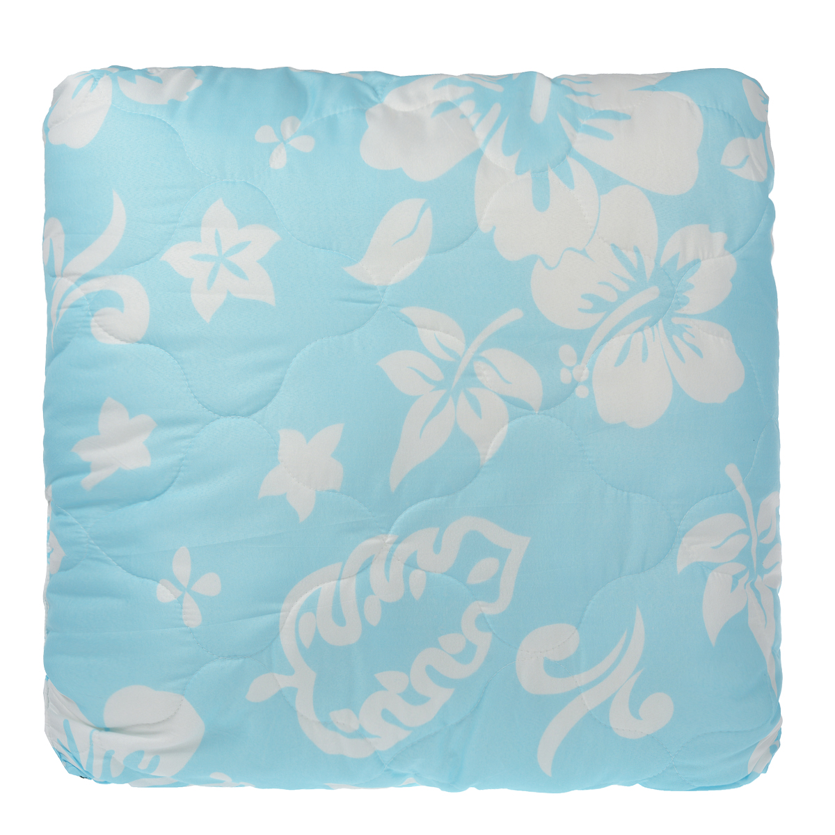 Подушка Dargez Бомбей, наполнитель: бамбуковое волокно, цвет: голубой, 68 см х 68 см03(23)141ЕПодушка Dargez Бомбей подарит комфорт и уют во время сна. Чехол подушки, выполненный из микрофибры, оформлен фигурной стежкой, которая надежно удерживает наполнитель внутри. Волокно на основе бамбука - инновационный наполнитель, обладающий за счет своей пористой структуры хорошей воздухонепроницаемостью и высокой гигроскопичностью, обеспечивает оптимальный уровень влажности во время сна и создает чувство прохлады в жаркие дни. Антибактериальный эффект наполнителя достигается за счет содержания в нем специального компонента, а также за счет поглощения влаги, что создает сухой микроклимат, препятствующий росту бактерий. Основные свойства волокна: - хорошая терморегуляция, - свободная циркуляция воздуха, - антибактериальные свойства, - повышенная гигроскопичность, - мягкость и легкость, - удобство в эксплуатации и легкость стирки. Рекомендации по уходу: - Стирка при температуре не более 40°С. - Запрещается отбеливать, гладить.- Можно выжимать и сушить в стиральной машине.Материал чехла: микрофибра (100% полиэстер). Материал наполнителя: 50% бамбуковое волокно (вискоза), 50% полое силиконизированное пэ волокно. Размер подушки: 68 см х 68 см.