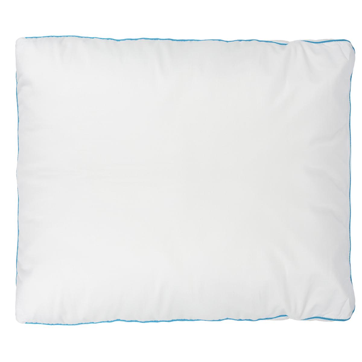 Подушка Dargez Меркурий, наполнитель: полое силиконизированное волокно Эстрелль, цвет: белый, 68 х 68 см03(12)251Подушка Dargez Меркурий подарит комфорт и уют во время сна. Чехол выполнен из инновационного полотна Outlast®. Наполнитель представляет собой шарики из полого силиконизированного волокна Эстрелль. Основные свойства волокна: - хорошая терморегуляция, - свободная циркуляция воздуха, - быстрое восстановление формы, - благоприятный климат во время сна, - мягкость и упругость, - удобство в эксплуатации и легкость стирки. Технология Outlast® обеспечит прекрасное самочувствие: постельные принадлежности принимают на себя тепло вашего тела, если тело слишком нагревается, и отдают тепло обратно, когда вам это необходимо. Постельные принадлежности Outlast® образуют буфер для микроклимата на вашей коже и таким образом защищают тело от перегрева и потообразования. Кроме того, компенсируется различное восприятие тепла и холода партнерами. Благодаря этому вы лучше засыпаете и просыпаетесь отдохнувшим. Рекомендации по уходу: - Стирка при температуре не более 40°С. - Запрещается отбеливать, гладить.- Можно выжимать и сушить в стиральной машине. Материал чехла: микрофибра (100% полиэстер), полотно Outlast®. Материал наполнителя: полое силиконизированное волокно Эстрелль. Размер подушки: 68 см х 68 см.