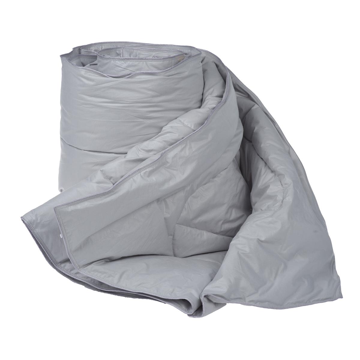 Одеяло Dargez Богемия, наполнитель: пух категории Экстра, цвет: серый, 140 х 205 см22382Одеяло Dargez Богемия подарит комфорт и уют во время сна.Чехол одеяла выполнен из пуходержащего гладкокрашеного батиста с обработкой ионами серебра. Ткань с ионами серебра благотворно воздействует на кожу, оказывает расслабляющее действие для организма человека, имеет устойчивый антибактериальный эффект.Уникальная запатентованная стежка Bodyline® по форме повторяет тело человека, что помогает эффективно регулировать теплообмен различных частей организма и создать оптимальный микроклимат во время сна.Натуральное сырье, инновационные разработки и современные технологии - вот рецепт вашего крепкого сна. Изделия коллекции способны стать прекрасным подарком для людей, ценящих красоту и комфорт. Рекомендации по уходу:- Стирка при температуре не более 40°С.- Запрещается отбеливать, гладить, выжимать и сушить в стиральной машине. Материал чехла: батист пуходержащий (100% хлопок).Материал наполнителя: пух категории Экстра.Размер одеяла: 140 см х 205 см.
