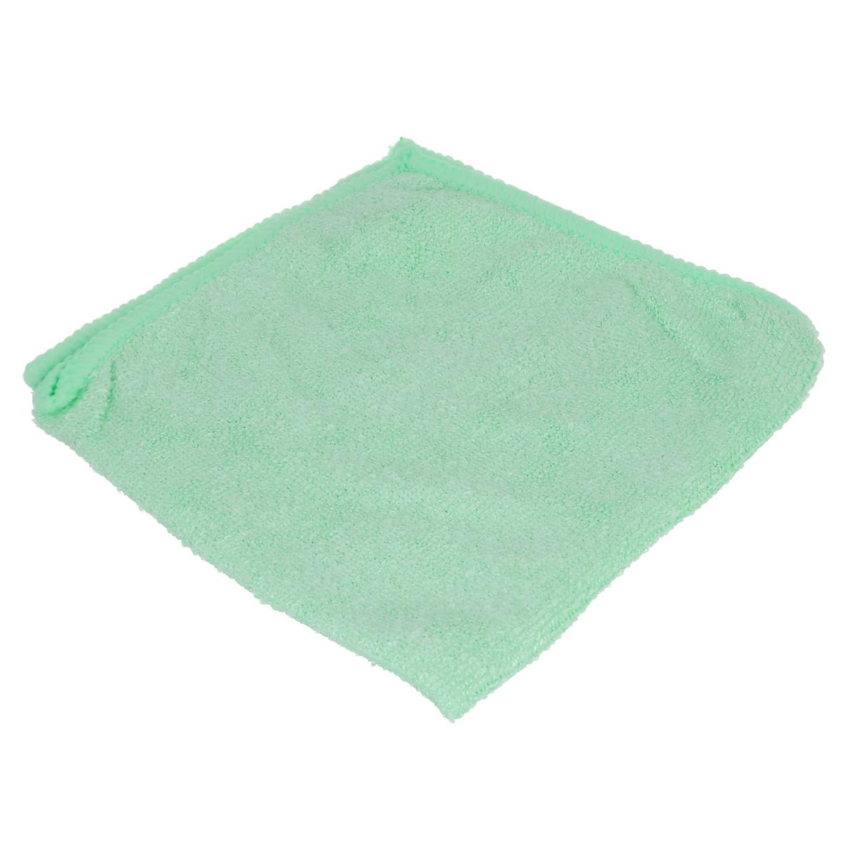 Салфетка для уборки Home Queen, цвет: салатовый, 30 х 30 см50304Салфетка Home Queen, изготовленная из полиамида и полиэфира, предназначена для очищения загрязнений на любых поверхностях. Изделие обладает высокой износоустойчивостью и рассчитано на многократное использование, легко моется в теплой воде с мягкими чистящими средствами. Супервпитывающая салфетка не оставляет разводов и ворсинок, удаляет большинство жирных и маслянистых загрязнений без использования химических средств. Размер салфетки: 30 см х 30 см.Материал: 30% полиамид, 70% полиэфир.