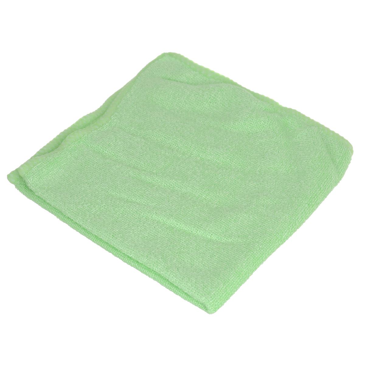 Салфетка из микрофибры для уборки Youll Love, цвет: светло-зеленый, 30 х 30 см. 5804458044Салфетка Youll Love, изготовленная из микрофибры (70% полиэфир и30%полиамид), предназначена для очищения загрязнений на любых поверхностях. Изделие обладает высокой износоустойчивостью и рассчитано на многократное использование, легко моется в теплой воде с мягкими чистящими средствами. Супервпитывающая салфетка не оставляет разводов и ворсинок, удаляет большинство жирных и маслянистых загрязнений без использования химических средств.