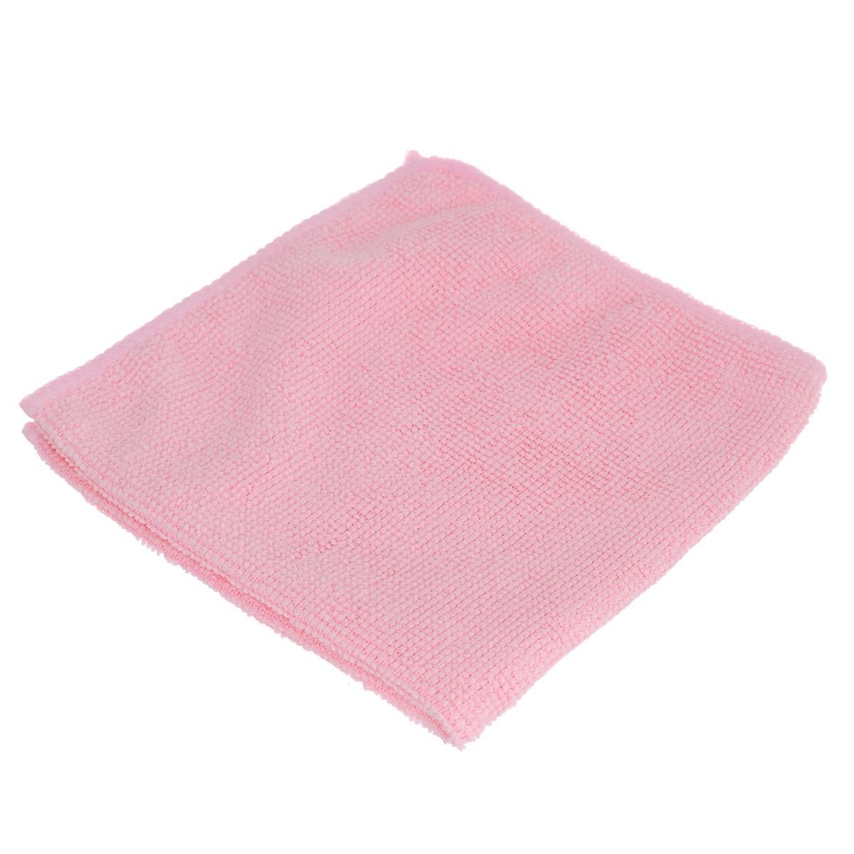 Салфетка из микрофибры Home Queen, цвет: розовый, 30 х 30 см50308Салфетка Home Queen, изготовленная из полиамида и полиэфира, предназначена для очищения загрязнений на любых поверхностях. Изделие обладает высокой износоустойчивостью и рассчитано на многократное использование, легко моется в теплой воде с мягкими чистящими средствами. Супервпитывающая салфетка не оставляет разводов и ворсинок, удаляет большинство жирных и маслянистых загрязнений без использования химических средств. Размер салфетки: 30 см х 30 см.Материал: 30% полиамид, 70% полиэфир.