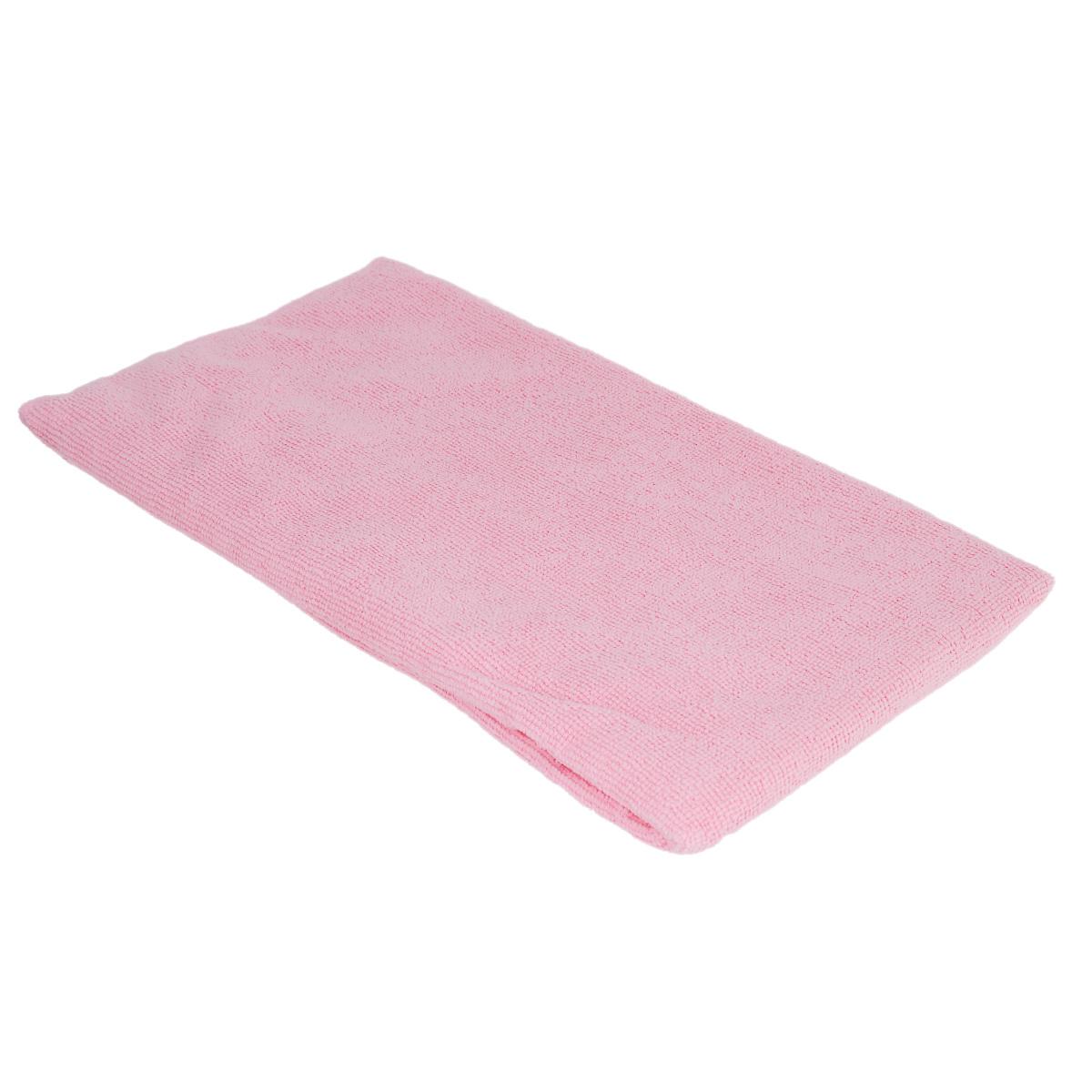Тряпка для пола Home Queen Макси, цвет: розовый, 70 см х 80 см сумка для коврика венера 16 см 70 см розовый