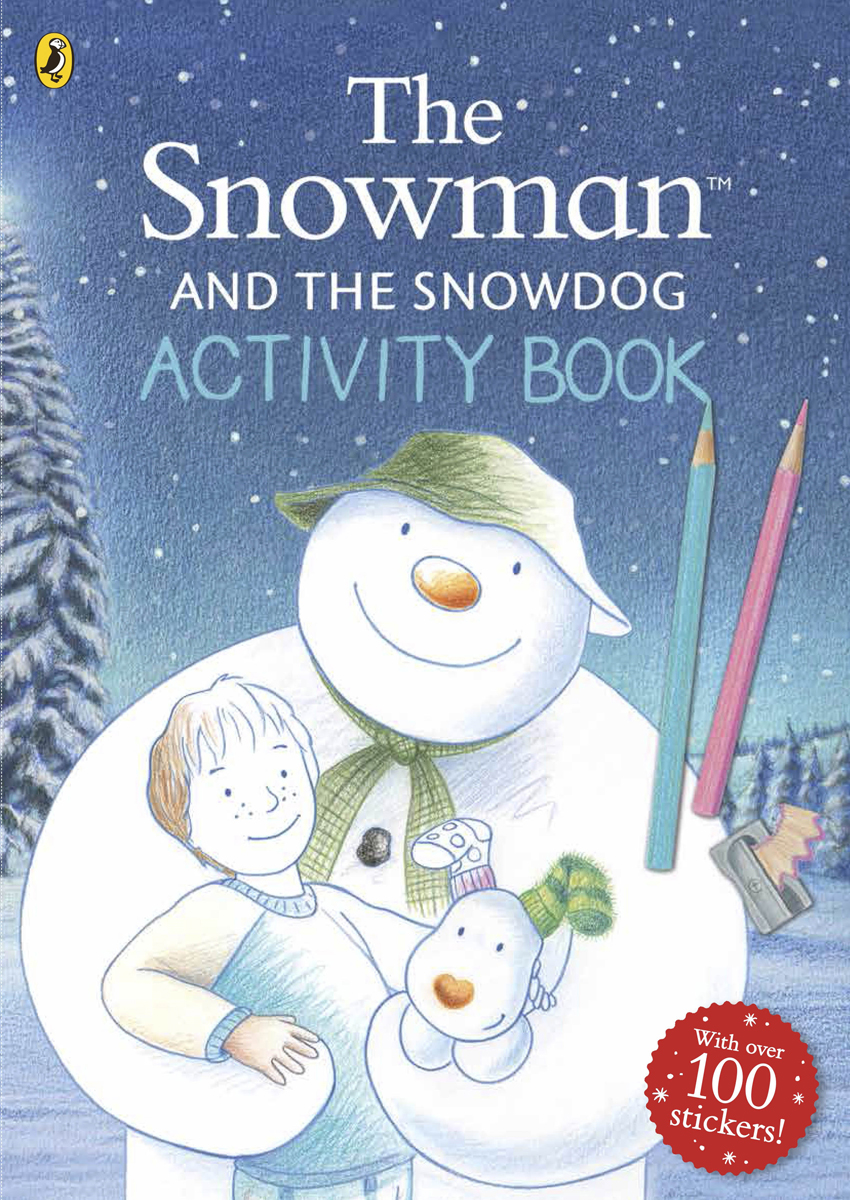 Snowman and Snowdog: Activity Book where s wally across lands activity book 100 stickers