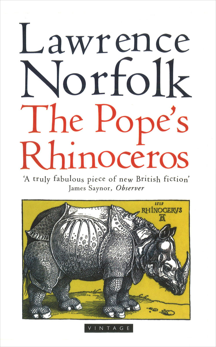 The Pope's Rhinoceros stein g the art of racing in the rain a novel