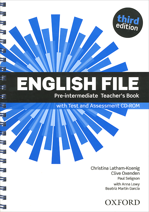 English File: Pre-Intermediate: Teacher's Book with Test and Assessment (+ CD-ROM) mackie g link intermediate wook book