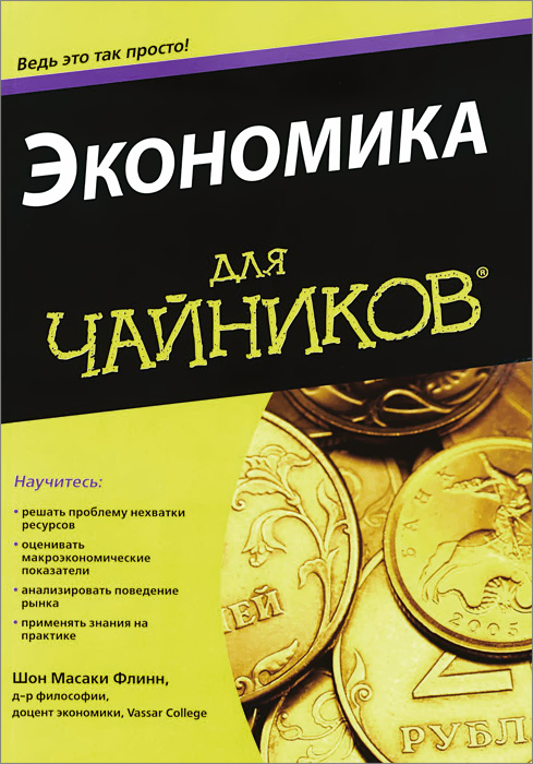 Шон Масаки Флинн Экономика для чайников ISBN: 978-5-8459-1970-0 , 0-7645-5726-2 роб чиампа тереза мур джон каруччи как заработать на youtube для чайников