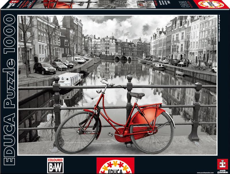 Амстердам. Пазл, 1000 элементов