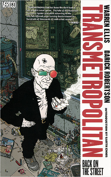 Transmetropolitan: Volume 1: Back on the Street knights of sidonia volume 6