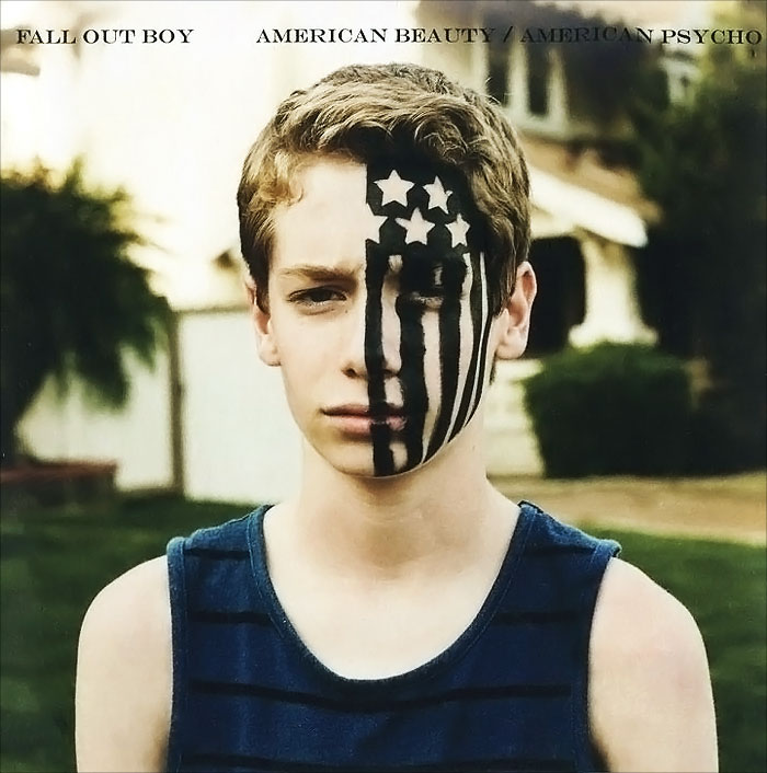 Fall Out Boy Fall Out Boy. American Beauty / American Psycho худи print bar fall out boy