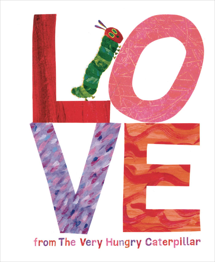 Love from the Very Hungry Caterpillar the love of clothing care 000001