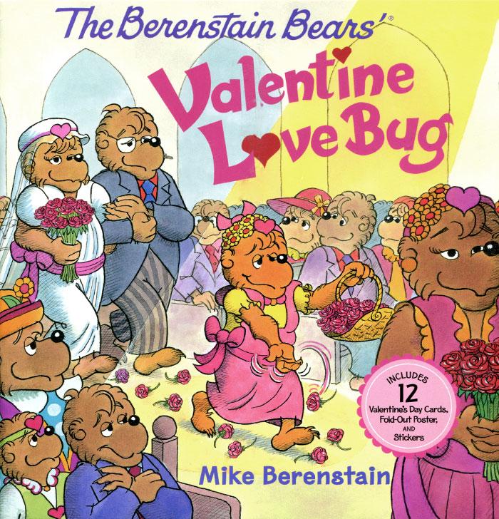купить The Berenstain Bears: Valentine Love Bug (+ Stickers) по цене 549 рублей