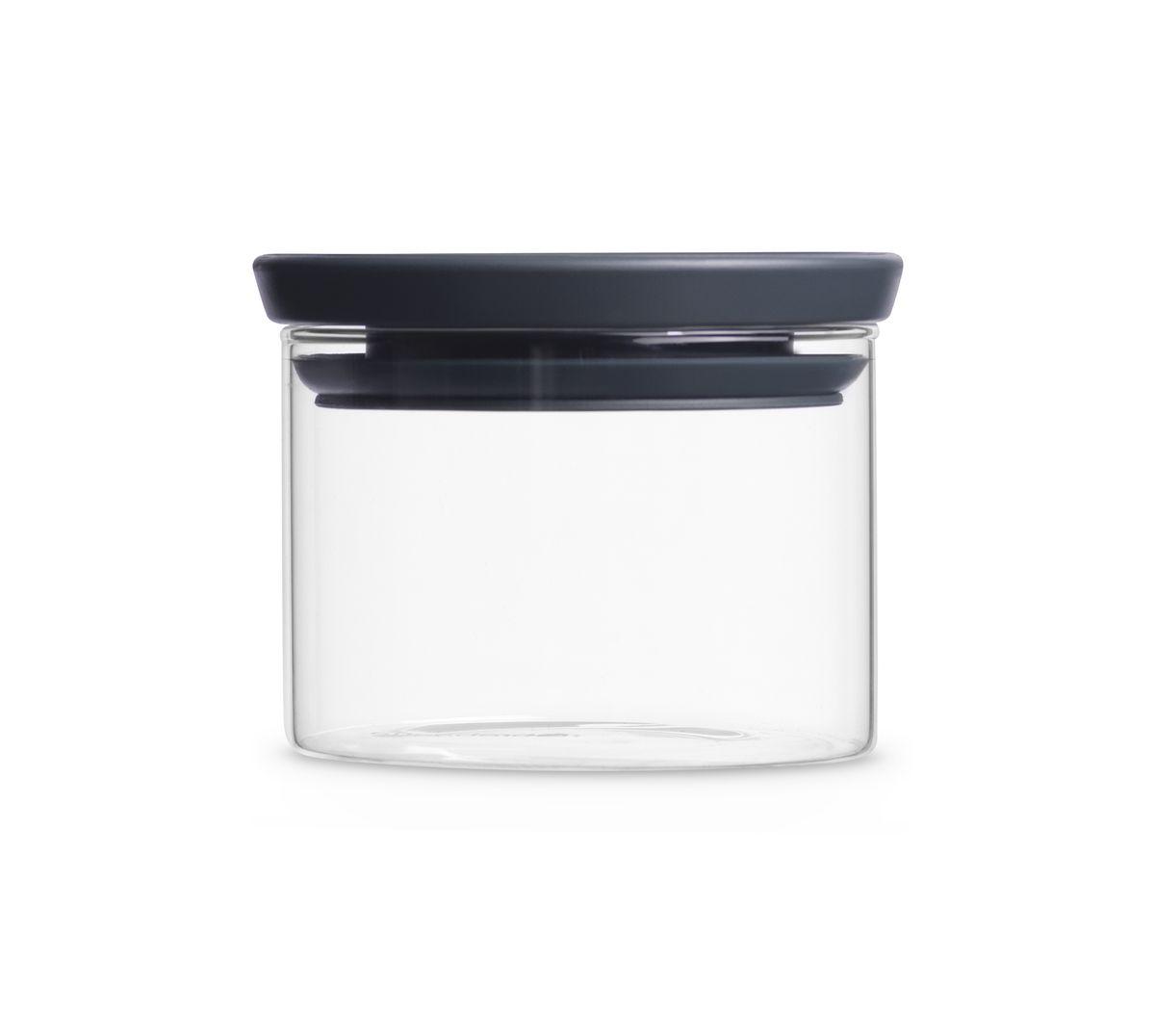 Банка для сыпучих продуктов Brabantia, 300 мл. 298301298301Экономия места – модульная конструкция: банки составляются одна на другую. Продукты дольше сохраняют свежесть – герметичная крышка. Хорошо видно содержимое и его объем – прозрачное стекло. Легко моются – банки и крышки можно мыть в посудомоечной машине.