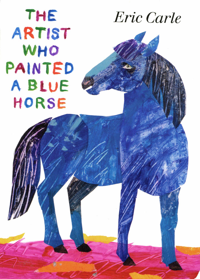 The Artist Who Painted a Blue Horse купить