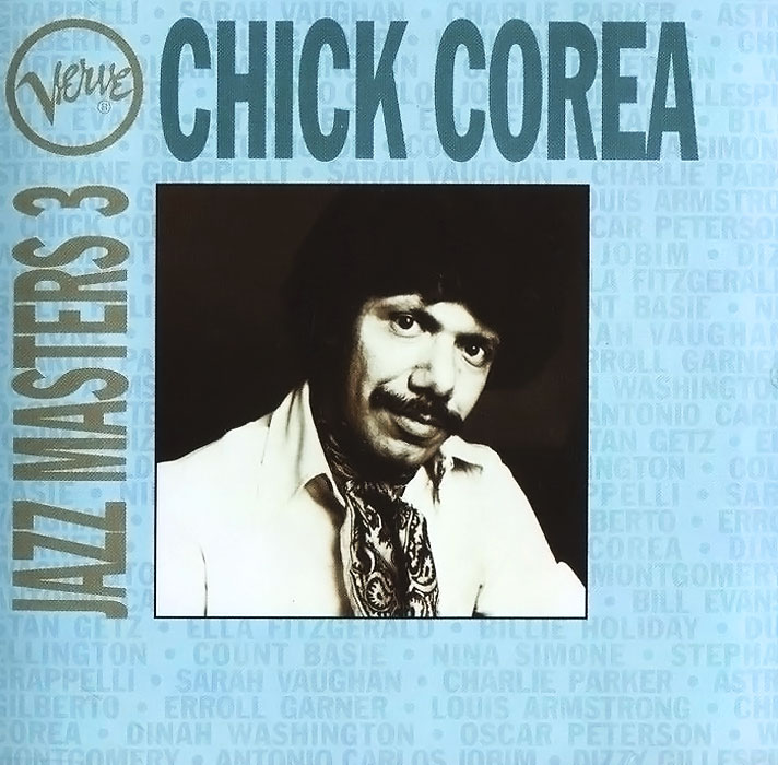 Чик Кориа Chick Corea. Verve Jazz Masters 3 чик кориа chick corea solo piano portraits 2 cd