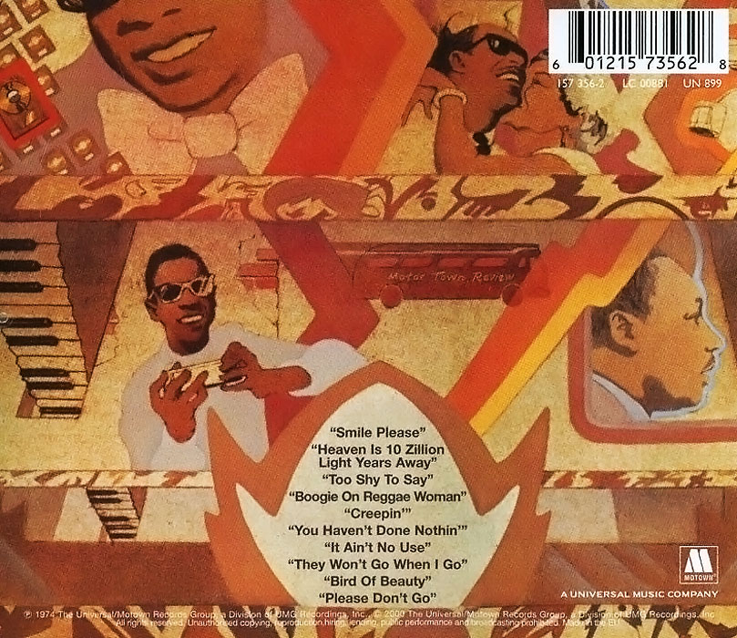Stevie Wonder.  Fulfillingness' First Finale ООО