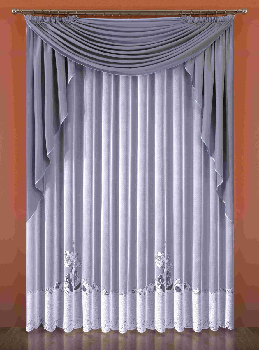 Комплект штор Wisan Norma, на ленте, цвет: белый, серый, высота 250 см336WКомплект штор Wisan Norma выполненный из полиэстера, великолепно украсит любое окно. В комплект входят тюль и 2 плотных ламбрекена.Оригинальный дизайн придает комплекту особый стиль и шарм. Качественный материал, нежная цветовая гамма и роскошное исполнение - все это делает шторы Wisan Norma замечательным дополнением интерьера помещения.Комплект оснащен шторной лентой для красивой сборки. В комплект входит: Тюль - 1 шт. Размер (ШхВ): 300 см х 250 см. Ламбрекен вертикальный - 2 шт. Размер (ШхВ): 160 см х 170 см. Ламбрекен горизонтальный - 1 шт. Размер (ШхВ): 200 см х 160 см. Фирма Wisan на польском рынке существует уже более пятидесяти лет и является одной из лучших польских фабрик по производству штор и тканей. Ассортимент фирмы представлен готовыми комплектами штор для гостиной, детской, кухни, а также текстилем для кухни (скатерти, салфетки, дорожки, кухонные занавески). Модельный ряд отличает оригинальный дизайн, высокое качество. Ассортимент продукции постоянно пополняется.
