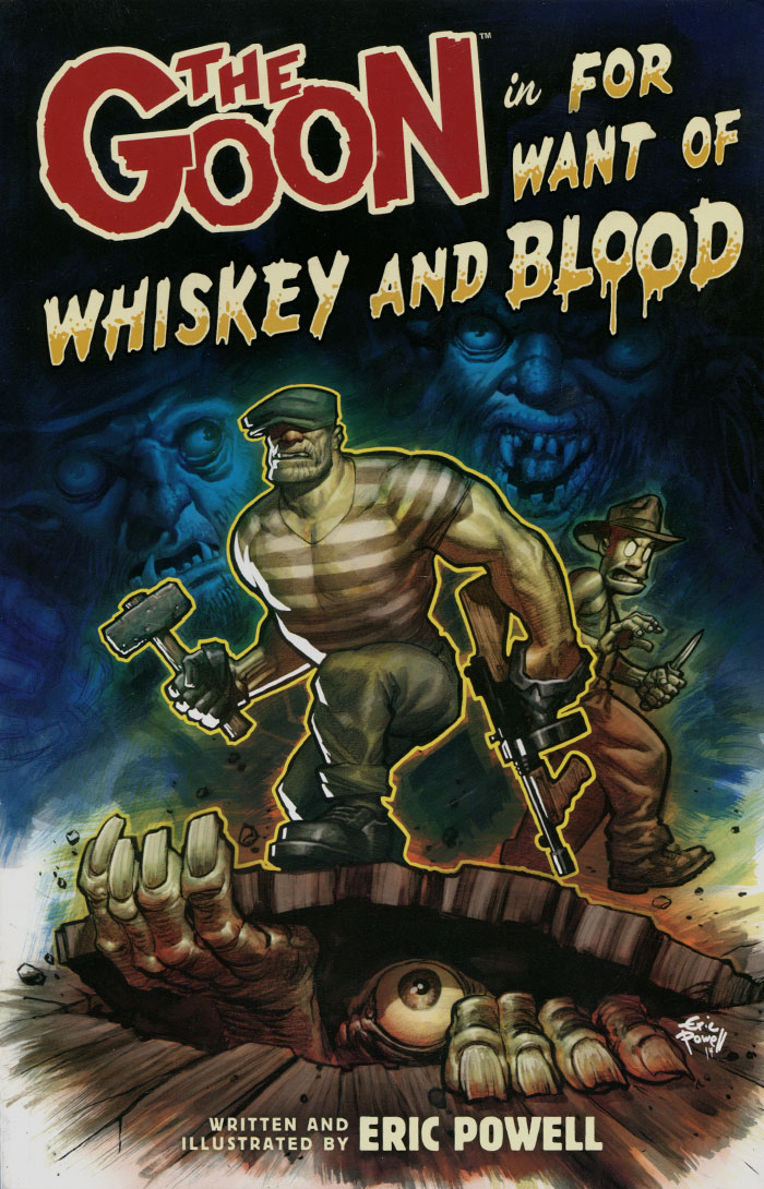 The Goon: Volume 13: For Want of Whiskey and Blood goon show the volume 24 the case of the missing heir