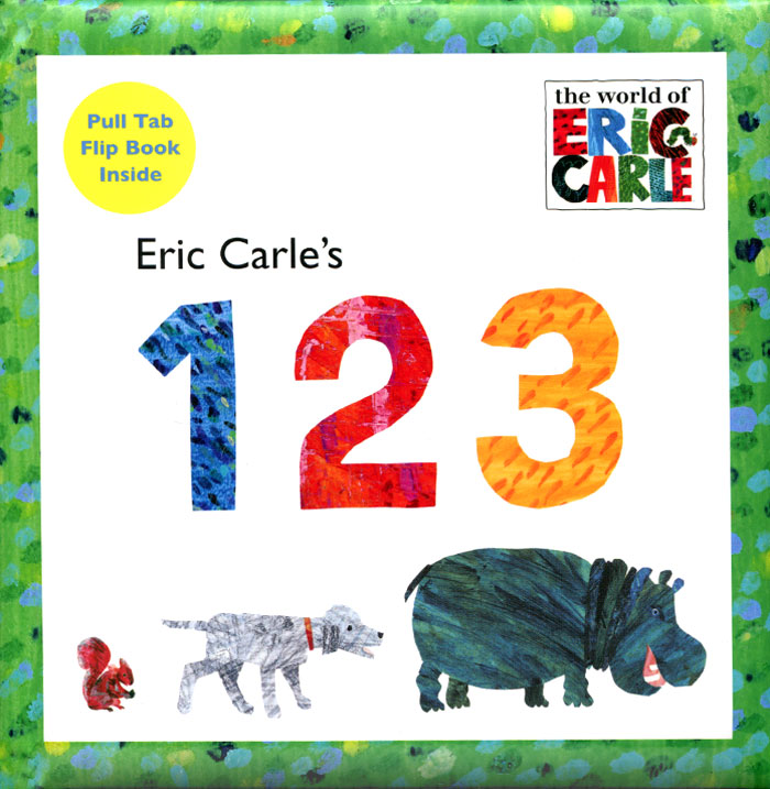 Eric Carle's 1 2 3 юбка the page the one 823479 page one